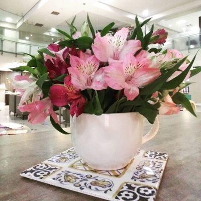 Arreglo con flores Alstromerias