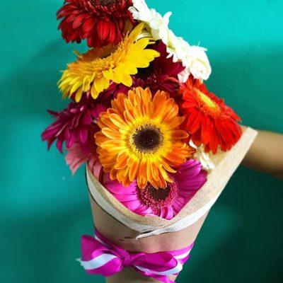 Bouquets de Gerberas